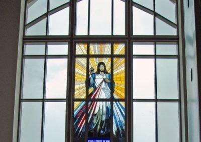 Church Glass Installation