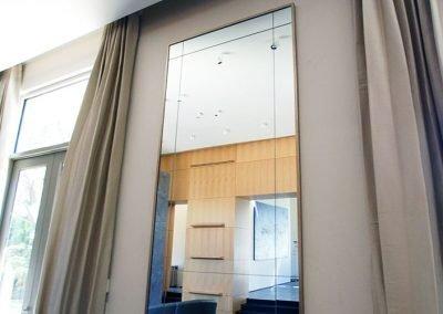 Standard Glass provides custom wall mirror glass.