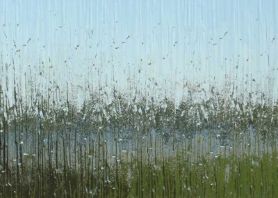 Rain glass pattern